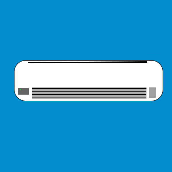 Split-ductless AC unit
